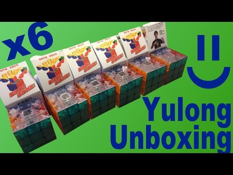 6 Transparent YJ Yulong Unboxing for 200th Video Special