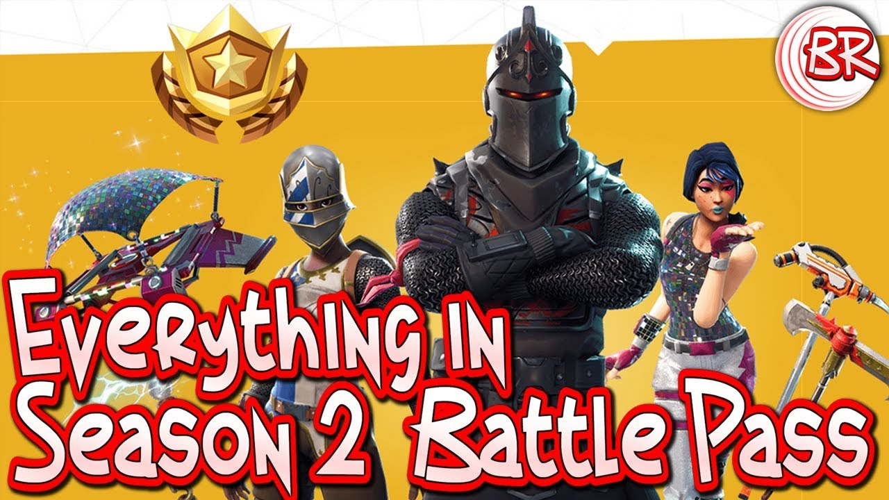 Everything In the Season 2 Battle Pass - Fortnite: Battle ...