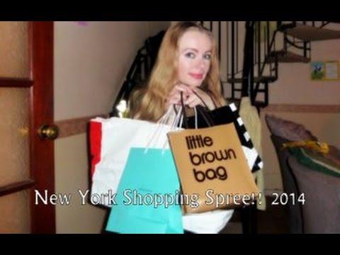 New York City Shopping Spree!! Aero, Express, Bloomingdales etc. September 2014