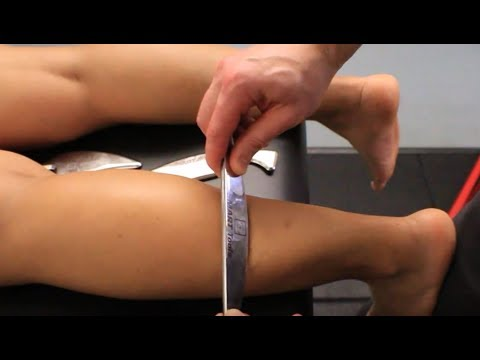 Crural Fascia and Achilles Tendon - Instrument Assisted Soft Tissue Mobilization (IASTM)