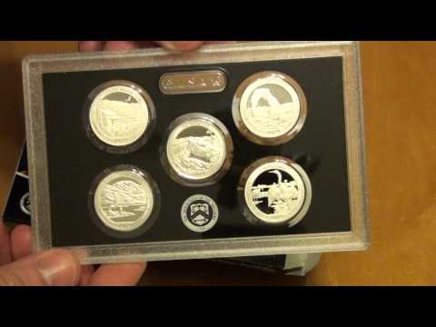 US Mint State Quarters unboxing