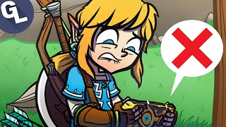 OH NO Link's Sheikah Slate is Broken