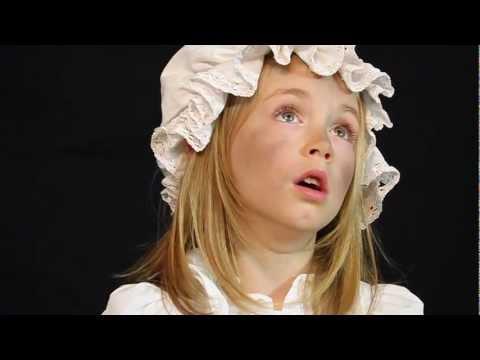 Les Miserables - Castle On A Cloud - performed by Lara Jüptner