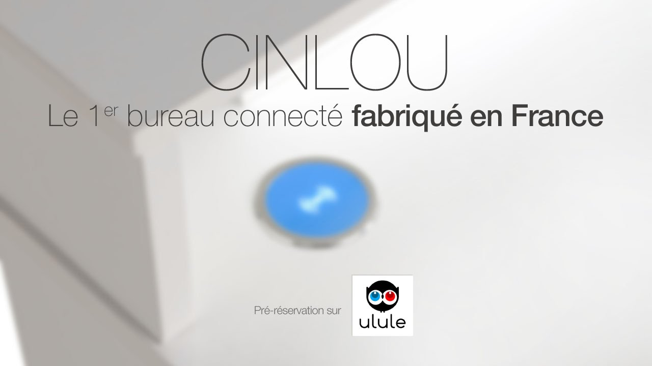 cinlou le 1er bureau connect issu de l 39 open innovation youtube. Black Bedroom Furniture Sets. Home Design Ideas