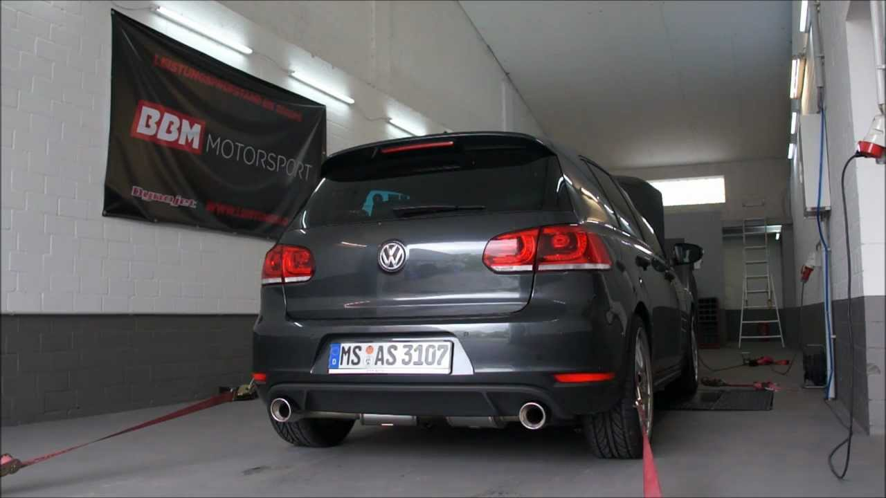bbm motorsport vw golf 6 2 0 tfsi gti chiptuning. Black Bedroom Furniture Sets. Home Design Ideas