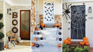 🎃DIY Halloween decoration for outside 🎃| Outdoor Halloween  decor | Flamingo Mango