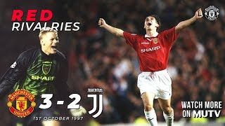 Red Rivalries | Manchester United 3-2 Juventus (97/98) | Watch more on MUTV | UEFA Champions League