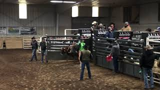 Rhett saddle bronc riding Sunday HYRA