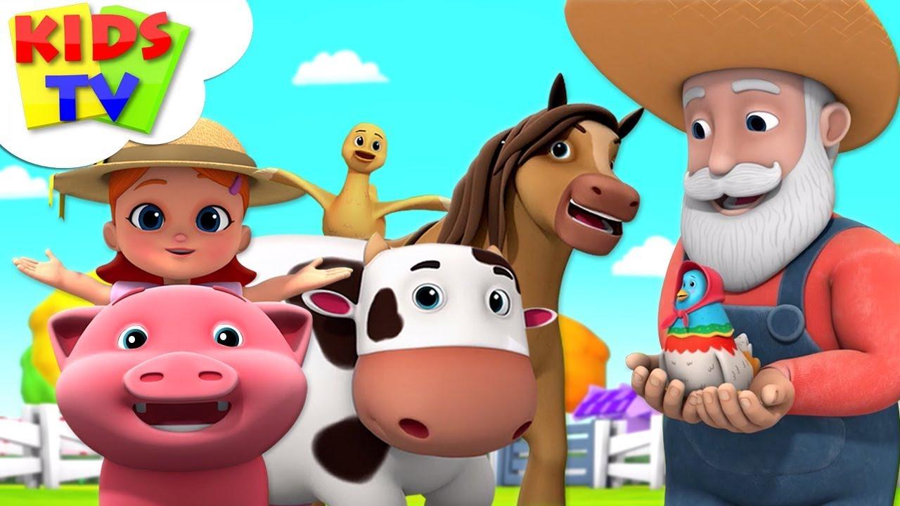 Old MacDonald | Boom Buddies | Nursery Rhymes & Children Songs - Kids TV