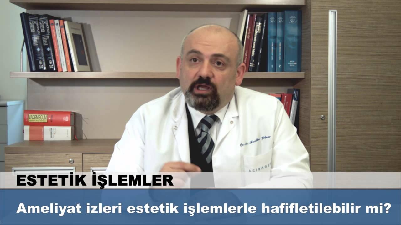 Ameliyat Izleri Estetik Islemlerde Hafifletilebilir Mi Youtube