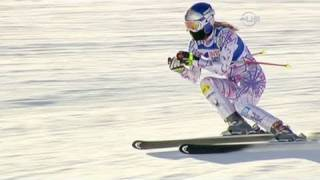 Lindsey Vonn with Downhill win - from Universal Sports