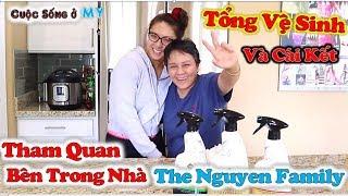 ❀//Vlog 240// Một Ngày Tổng Vệ Sinh, Tham Quan Phía Trong Nhà The Nguyễn Family Và Cái Kết...