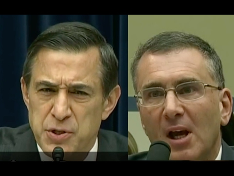 Darrell Issa Asks Jonathan Gruber if He's STUPID like Forrest Gump!