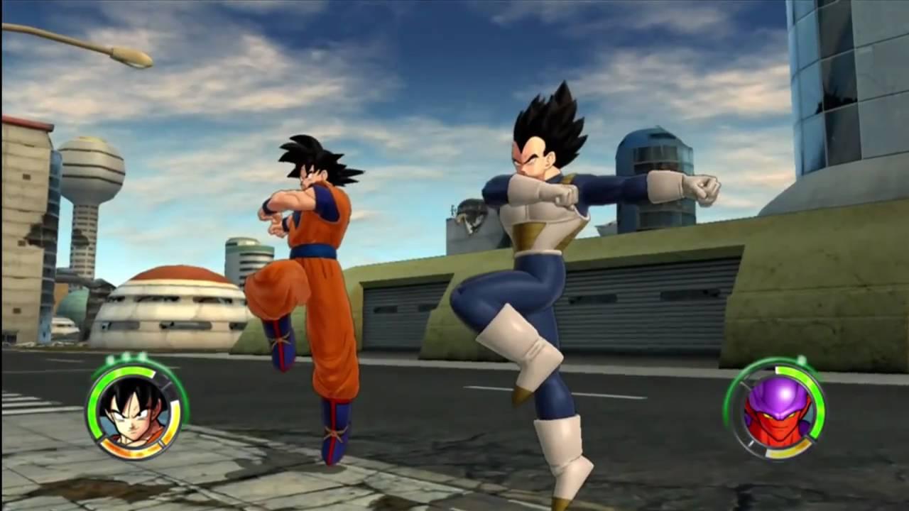 Dragonball Z Raging Blast 2 – Goku & Vegeta VS Movie Villains