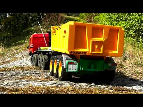 8x8 Mercedes truck RC project