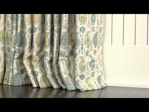 How To Puddle Curtains | Southern Living