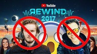 ¿¡NI elrubius NI PewDiePie!? | REACCIONANDO AL YOUTUBE REWIND 2017