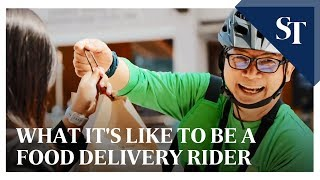 What it's like to be a food delivery rider | The Straits Times screenshot 5