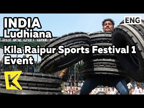 【K】India Travel-Ludhiana[인도 여행-루디아나]킬라 라이푸르 운동회 1/Kila Raipur/Sports Festival/Event/Rural Olympics