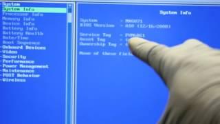 Delete/remove and modify Dell Service Tag in BIOS for Dell XPS M1730