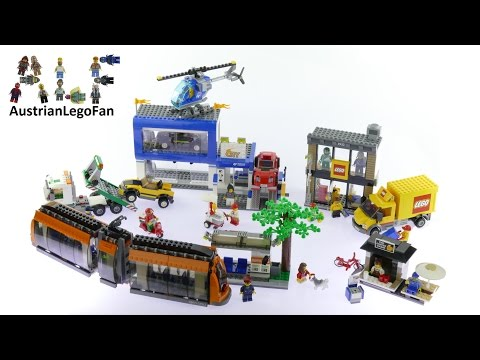 Lego City 60097 City Square - Lego Speed Build Review