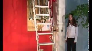 Чердачная лестница Roto Elektra с электроприводом(, 2014-11-26T15:08:50.000Z)