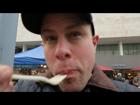 London Street Food Tour at Southbank Centre Market