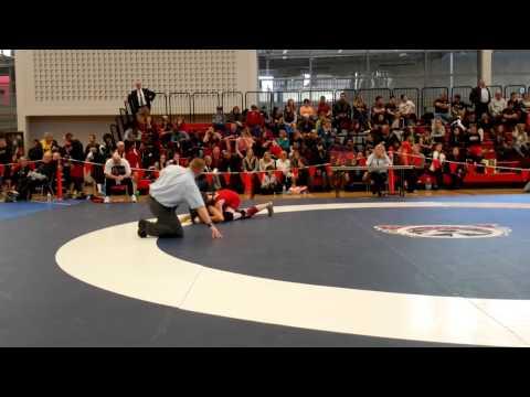 2015 Junior National Championships: 51 kg Rachel Alder vs. Vivian Mark