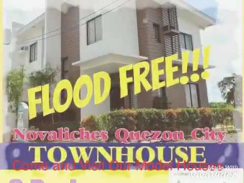 Amaia Series Novaliches Townhouse house and lot  in Quezon City