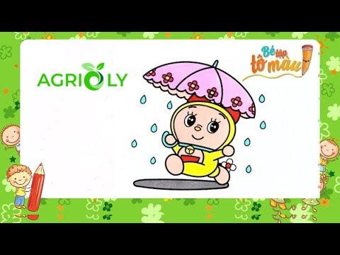 Agrioly   Bé Tập Vẽ Và Tô Màu Doremi