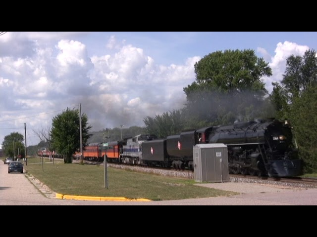 Milwaukee Road 261 at New Lisbon, WI