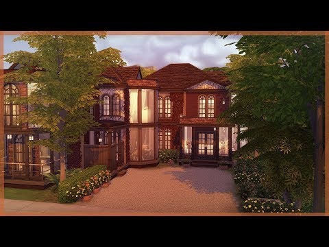 The Sims 4 House Build | Autumn Inspired Home | Raven Grove