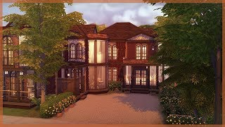 �������� ���� The Sims 4 House Build | Autumn Inspired Home | Raven Grove ������