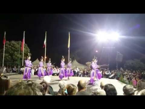 Tai Ji Men Qigong Academy (Taiwan) - 52º Festival Intern. Folclore Gulpilhares (Portugal) 06.08.2016