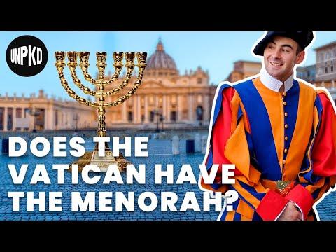 Is The Vatican Hiding The Menorah?