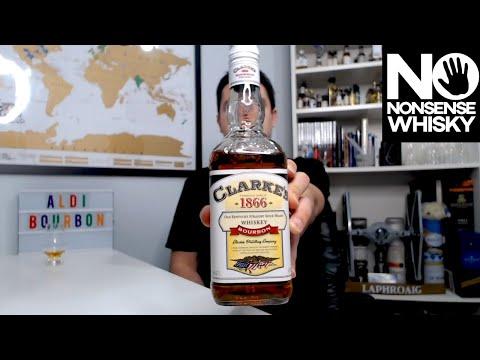 ALDI Bourbon Clarkes 1866   No Nonsense Whisky #244