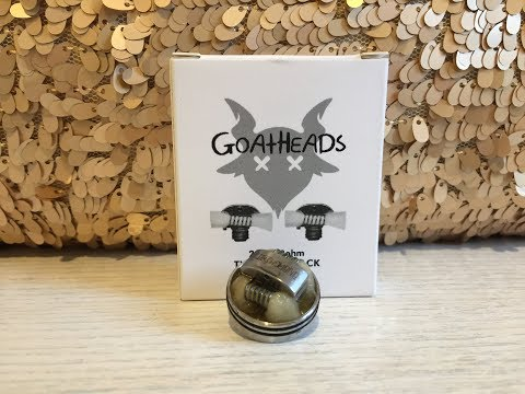 Best & easiest way to clean your G.O.A.T RDA coils or any RDA coil & give them a new lease of life.