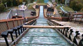 Olympic Ski Jump - -Lake Placid, New York