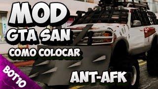 GTA SAN | Como Colocar Mod Ant-Afk | San Andreas 2017