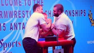 14th Open Azian armwrestling championships 2015