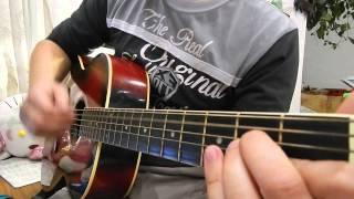 Кавер. Обучение игры на гитаре. Замедленный перебор и бой для песни Ляпис Трубецкой