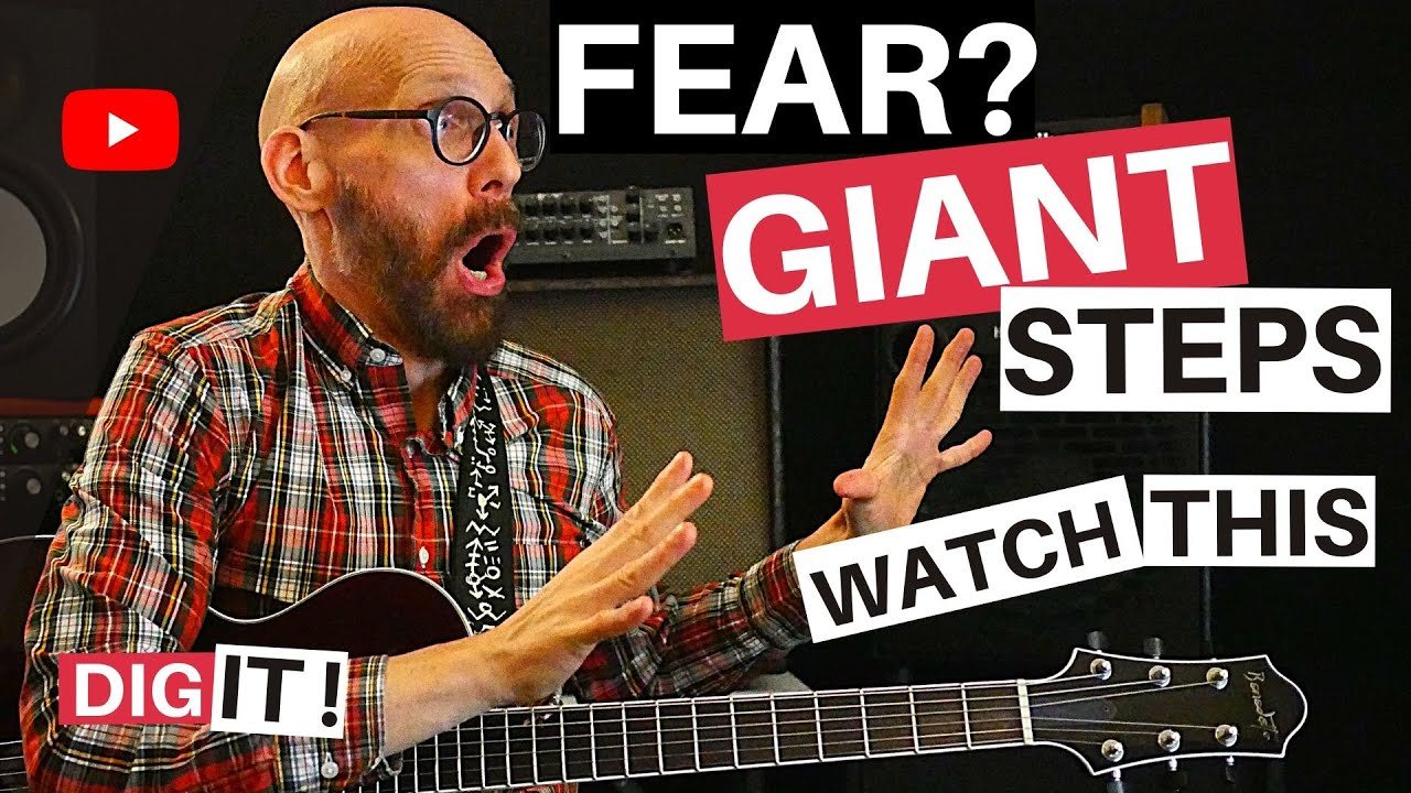 Giant Steps Jazz Guitar Lesson