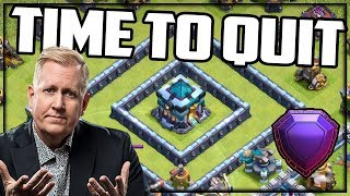 Why I've Decided to Quit Legend League Trophy Pushing in Clash of Clans