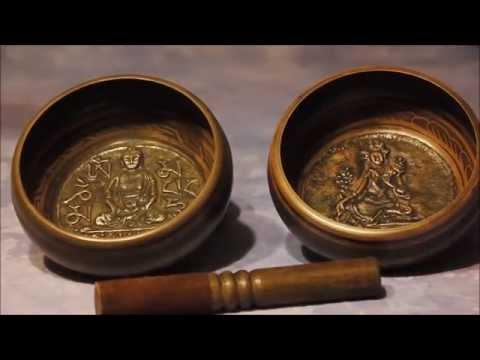 Buddha & Tara Tibetan Meditation Singing Bowls