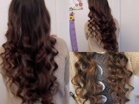 5 Minute No-Heat Curls!