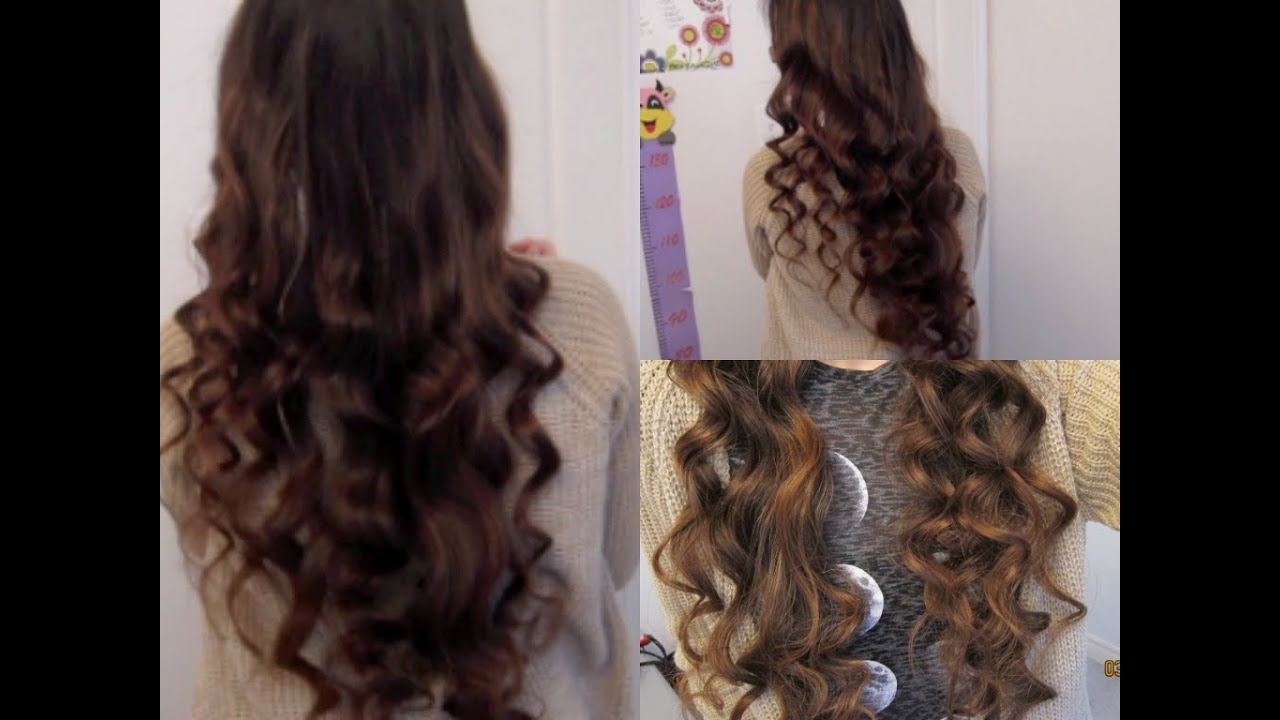 5 Minute No Heat Curls Youtube