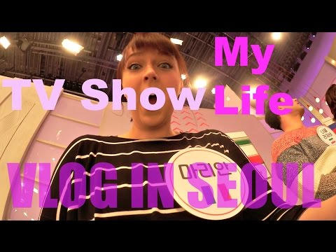 Vlog in Korea 2015.01.06/07 Tv show and normal day in Seoul (ENG)