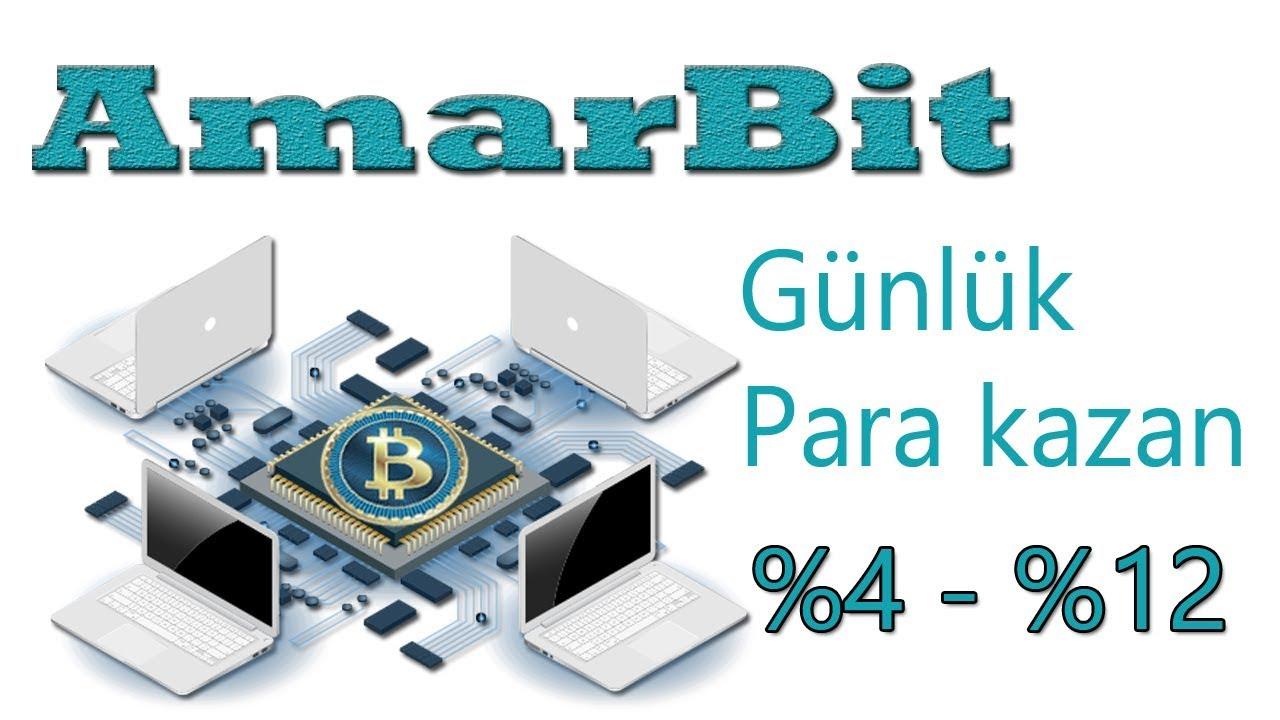 Amarbit - yeni yatırım sitesi günlük %4 ve üzeri kazanç