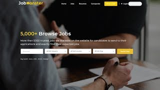 Jobmonster Wordpress Theme Review & Demo | Job Board WordPress Theme | Jobmonster Price & How to Install
