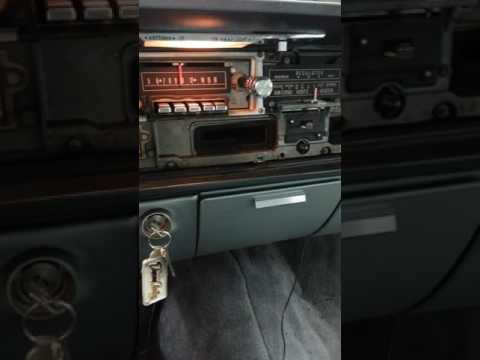 RediRad equipped 1964 Lincoln AM radio.  OH YES!